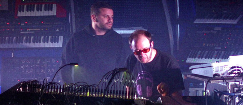 What do DJs do? The Chemical Brothers create dance music live on stage stage