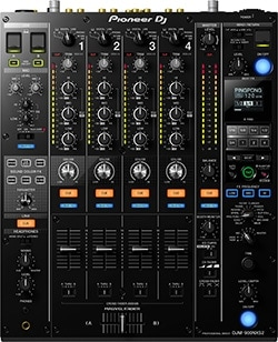 The DJM-900NXS2 is the flagship Pioneer mixer