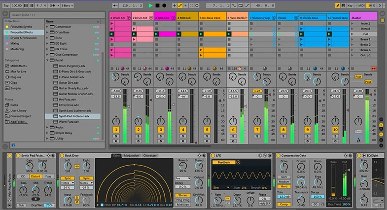 Skrillex uses Ableton to produce his music