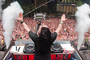 Skrillex is a DJ, Producer & live performer