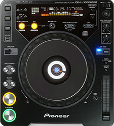 Pioneer's CDJ-1000mk2 became an industry standard