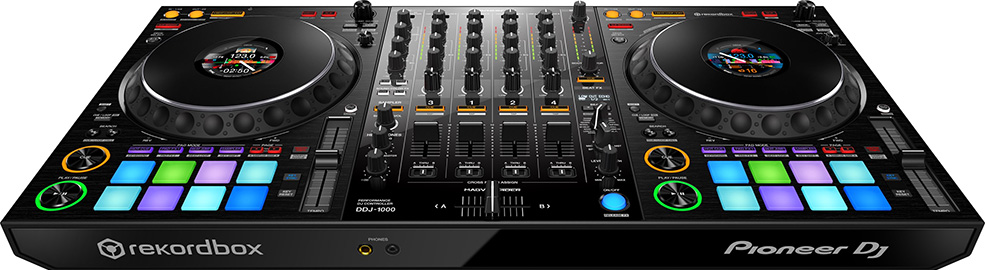 The DDJ-1000 is Pioneer's current flagship DDJ model