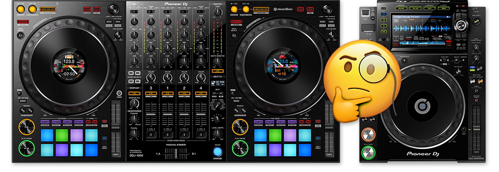 What's the Difference Between CDJ and DDJ? All the facts & features