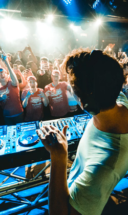 Which type of DJing is harder a fun, ongoing debate
