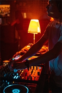 DJing allows you play WITH music