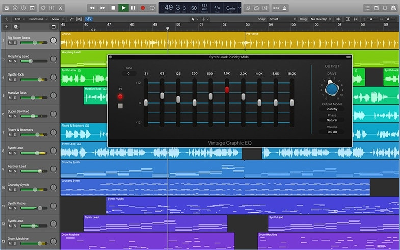 Calvin Harris uses Logic Pro X