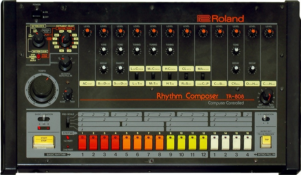 The Roland 808 is a legendary bit of kit