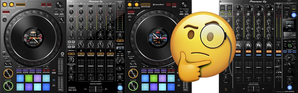 Whats the difference between DJ mixer and DJ controller