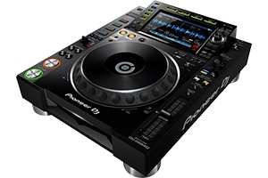 The CDJ2000NXS is the flagship Pioneer deck