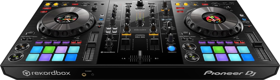 DDJ-800 Recommended Controller