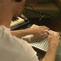 Deadmau5 used to use an Monome for his live shows