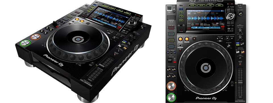 The CDJ2000NXS2 are our recommended decks