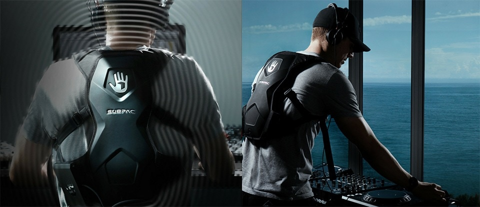 SUBPAC lets you feel bass...without a sound