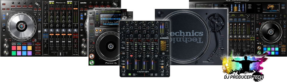 The full range of DJ equipment options